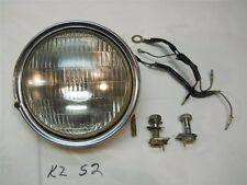 72 S2 350 TRIPPLE HEADLITE UNIT BULB RING 23003-014 + Extra Headlight Misc
