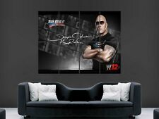WWE THE ROCK  WRESTLING  WALL GIANT POSTER DWAYNE JOHNSON