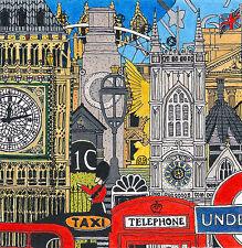 Westminster icónico artista de impresión de tinta Paisaje Urbano Contemporáneo número & Firmado