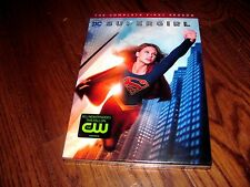 SUPERGIRL:  DC COMICS; THE COMPLETE FIRST SEASON DVD 5 DISC SET + SLIPCOVER] New