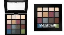 NEW! NYX COSMETICS Ultimate Shadow Palette SMOKEY & HIGHLIGHT New 100% Genuine