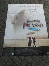 (B1) AFFICHE CINEMA : SURVIVING PICASSO Anthony Hopkins 1996 (120x160)