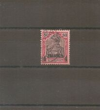 TIMBRE ALLEMAGNE DEUTSCHE KOLONIE GERMAN LEVANT N°18 OBLITERE USED