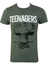MY CHEMICAL ROMANCE TEENAGERS OLIVE T-SHIRT SMALL MENS NEW OFFICIAL