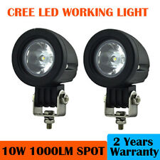 2PCS 10W LED Work Light CREE Spot Beam for SUV JEEP 4WD Driving Lamp Truck CAR