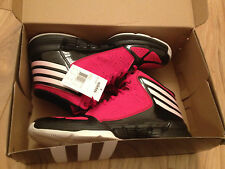 NIB Brand New Adidas Mad Handle Basketball Shoes Mens size 10.5 Red Black White