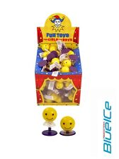 6x Happy Face Spring Jump Ups - Pinata Toy Loot/Party Bag Fillers Wedding/Kids