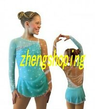 Nice Girls' Ice Skating Dress Women's Competition Rhythmic Gymnastics Leotard