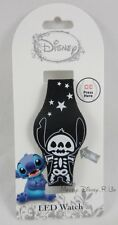 New Disney Lilo & Stitch Glow In The Dark Bones LED Digital Rubber Wrist Watch