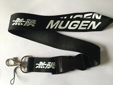 Honda Mugen Lanyard NEW Black - UK Seller - Car Keyring ID Holder Phone Strap