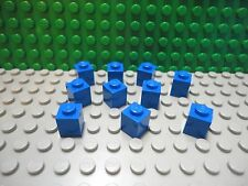Lego 10 Blue 1x1 brick block NEW