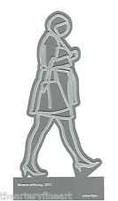 JULIAN OPIE 'Woman with Bag, 2012' Laser-Cut Metal Figure Multiple 6 x 3 in. NEW