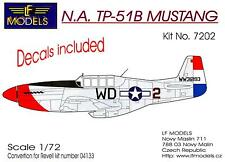 LF Models 1/72 NORTH AMERICAN TP-51B MUSTANG Conversion Kit with Decals