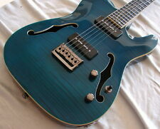 HIGH BIDDER TAKES IT! Electric Guitar semi hollow  FREE STUFF TOO! Raven West