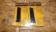 2 - Browning 1911 .380 -- factory NEW 8rd magazines clips mags     (B164)