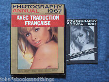 PHOTOGRAPHY ANNUAL 1967 TRADUCTION FRANCAISE FOTOGRAFIA GRANDI FOTOGRAFI PHOTO