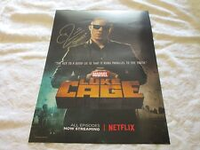 NYCC 2016 Exclusive Marvel Luke Cage Shades Poster Signed by Theo Rossi