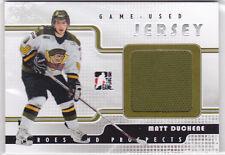 2008 08-09 ITG Heroes and Prospects Jerseys #GUJ04 Matt Duchene silver /100