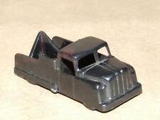 """Vintage IDEAL 1 - 1963 Black Plastic Toy Tow Truck 2.25"""""""