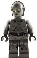 Lego Star Wars 2016 GREY C3PO Minifigure 75146 Christmas Silver C-3PO Minifigure