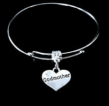 Godmother Bracelet God mother charm bracelet Jewelry gift godmum godmom godmama