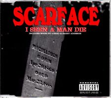 SCARFACE - I SEEN A MAN DIE - 5 TRACK MIXES CD SINGLE