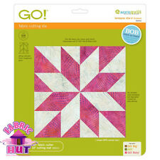 "55453- AccuQuilt GO! & GO! Big Die 6"" LeMoyne Star Block Fabric Cutting Quilting"