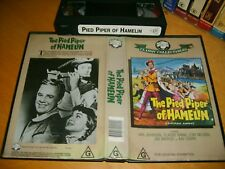 VHS *THE PIED PIPER OF HAMELIN - VAN JOHNSON(1957)* RARE - Vhs Australian Issue!