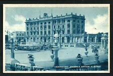 Cesenatico ( Forlì ) : Piazzale Grande Albergo -cartolina non viaggiata anni '40