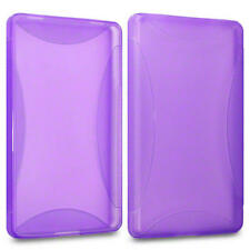 TPU Gel Jelly/Rubber Case For Amazon The Original Kindle Fire - Purple