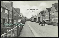 c.1910 Rag And Bone Man Donkey And Cart Granby Road Eltham London Postcard A686