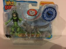Wild Kratts Gray Wolf Power! Figures And Power Disc PBS Kids Toy