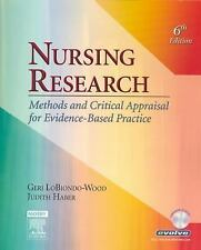 Nursing Research: Methods and Critical Appraisal for Evidence-Based Practice, Ge