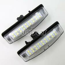 18-SMD LED License Plate Light For Toyota Camry 2006 - 2013 2007 2008 2009 2010