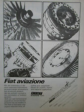 2/1974 PUB FIAT AVIAZIONE AVIATION HELICOPTER TURBINE COMPRESSOR BLADE AD