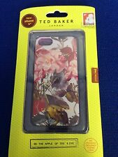 Ted London Baker iPhone 5/5S Silicone Case/ Peony Flowers -/New In Box