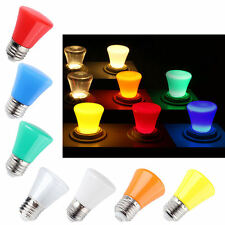7 colors Mini E27 Colorful Bulb Decorative LED Lamp Lighting for party