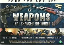 WEAPONS THAT CHANGED THE WORLD - 4 DVD BOX SET