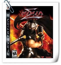 PS3 NINJA GAIDEN SIGMA SONY PLAYSTATION Action Games Koei Tecmo