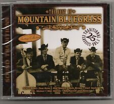 """MOUNTAIN BLUEGRASS, CD """"SOUND TRADITIONS"""" 25 TRADITIONAL, NEW SEALED"""