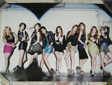 GIRLS' GENERATION FLOWER POWER 2012 Japan Promo  Poster (SNSD)