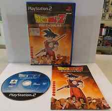 Console Game Gioco SONY Playstation 2 PS2 PAL ITALIANO DRAGON BALL Z BUDOKAI ITA