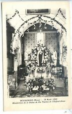 CP 02 Aisne - Rougeries - 12 Août 1928 - Bénédiction de la Statue de Ste Thérèse