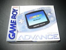 Nintendo Game Boy Advance Glacier Handheld System Brand New NIB gba