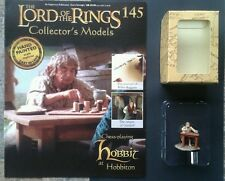LOTR Collectors Models #145 Chess Playing Hobbit Boxed & Magazine ULTRA RARE