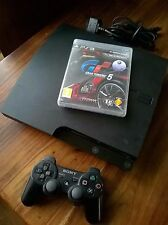 * Sony Playstation 3 Bundle | PS3 Slim 320GB | Gran Turismo 5 Fully Working *