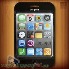 iPhone iPod iPad Apps Magneti frigo Magnete Set Frigorifero per Apple Fans
