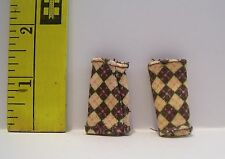 MATTEL FOR BARBIE DOLL DIAMOND PATTERN LEG WARMERS ACCESSORY