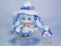 Vocaloid Miku Magical Snow Japanese Anime Figure Sets 10cm CHN Ver.