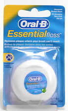 ORAL B Essential Dental Floss Unwaxed Dental Floss 50m